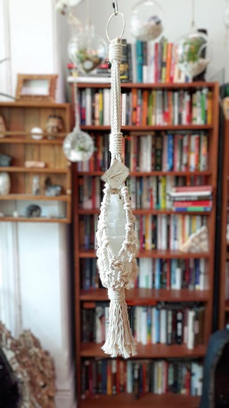 Selenite Stone Hanger
