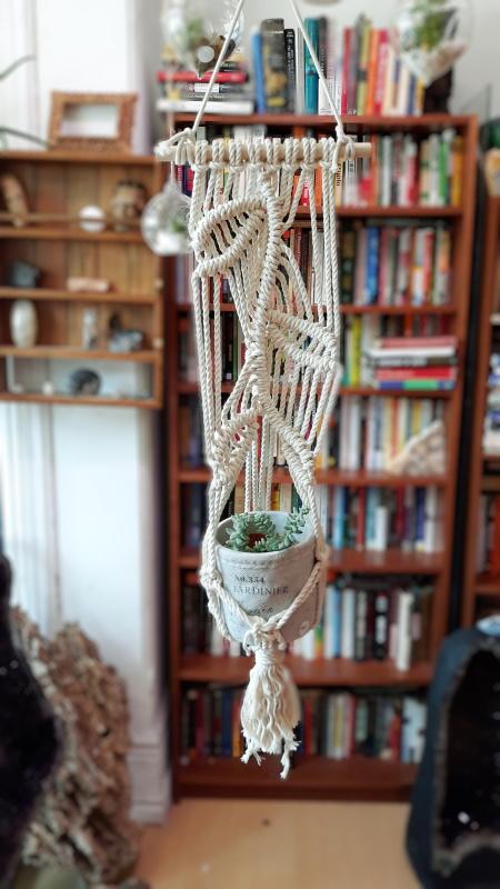 Leaf Macrame Plant Hanger